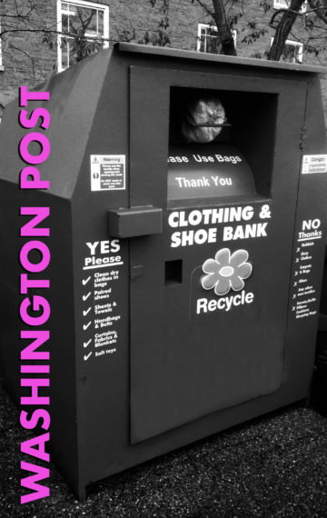 Do you know what's happening to your clothing donations?
